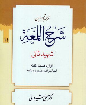 ترجمه و تبیین لمعه (جلد11)