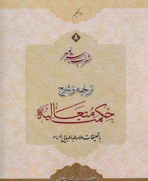 شراب سر به مهر ترجمه و شرح حکمت متعالیه (جلد8)
